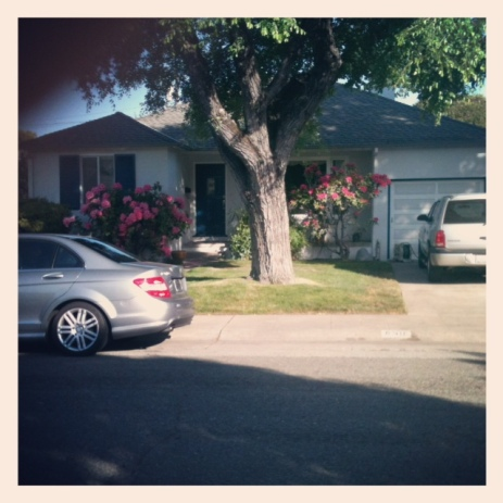 The house I grew up in.