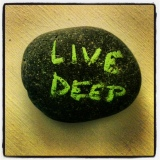 living deep: thank you to all who make thejourney